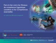 Référence : Compétence essentielle niveau 1 - Canadian Language ...
