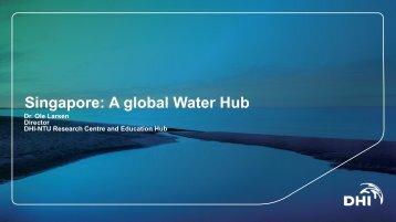 The Singapore Water Hub - Forskningsplatformen