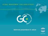 Súhrnná prezentácia 9. edície - Fakulta medzinárodných vzťahov