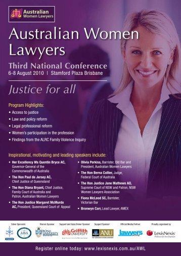 Australian Women Lawyers - LexisNexis