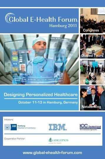 Pre-Conference Brochure - Global E-Health Forum – Hamburg 2011