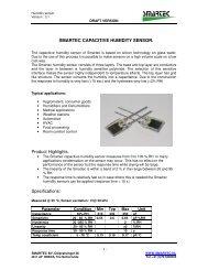 smartec capacitive humidity sensor. - Prctechnologies.co.th