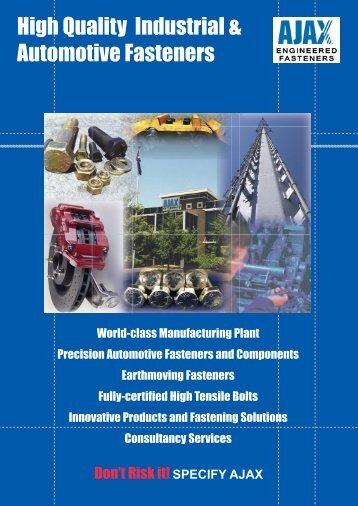 Four Page Brochure.pdf - Ajax Fasteners