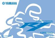 periodic maintenance and minor repair - Yamaha