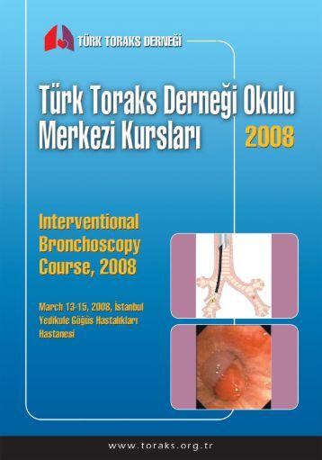 Girişimsel Bronkoskopi Merkezi Kursu - Türk Toraks Derneği