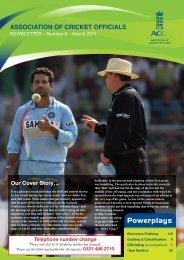 ACO Newsletter No.8 Feb 2011:ACO NEWSLETTER - Ecb