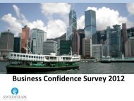 Business Confidence Survey 2012 - The Swedish Chamber of ...