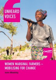 Women marginal farmers mobilising for change - Concern Worldwide
