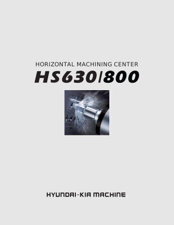 HORIZONTAL MACHINING CENTER - Compumachine