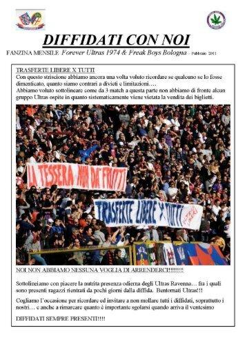 Febbraio 2011 - Forever Ultras 1974