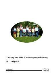 6. Ausgabe - Familienzentrum & Kindertageseinrichtung St. Ludgerus