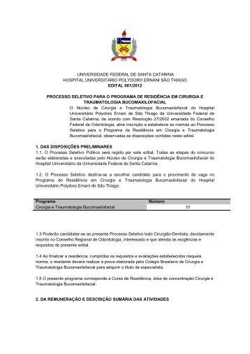 UNIVERSIDADE FEDERAL DE SANTA CATARINA ... - ITpack