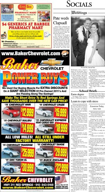 CHEVROLET - The News-Journal