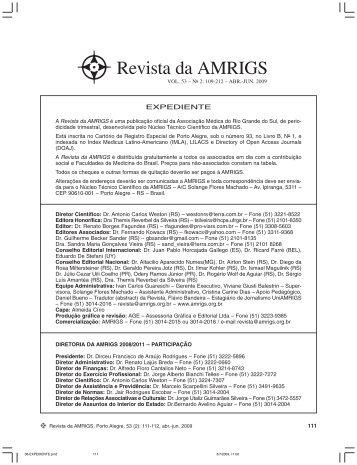 Revista da AMRIGS