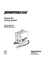 Service Manual - Baker's Gas + Welding Supplies