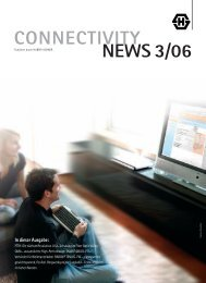 CONNECTIVITY NEWS 3/06 - Huber+Suhner AG