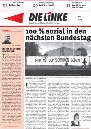 Ausgabe 05.2013 - DIE LINKE. Dresden