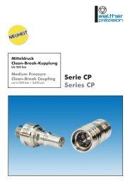 Serie CP Series CP - Carl Kurt Walther GmbH & Co. KG