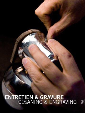 entretien & gravure cleaning & engraving entr - Harlequin