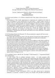 GIRPR Gruppo Italiano Ricercatori in Pattern Recognition ... - DMI