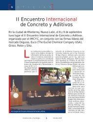 Noticias - Instituto Mexicano del Cemento y del Concreto