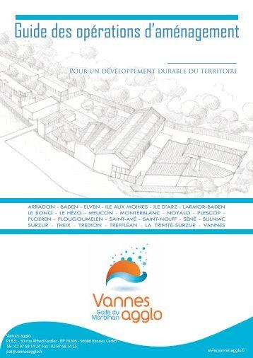 Guide des opérations d'aménagement - Vannes Agglo