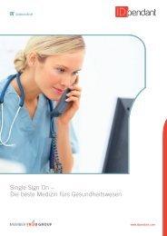 Single Sign On – Die beste Medizin fürs ... - IDpendant