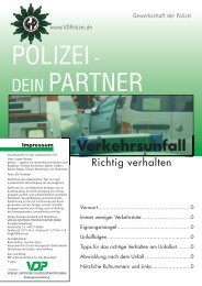 Leseprobe - Verlag Deutsche Polizeiliteratur