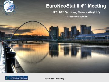 EuroNeoStat II - Neonatal European Information System