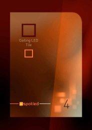Ceiling LED Tile - Spotled
