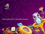 "UEFA EURO 2012â""¢ Host Cities Overview - Warszawa"