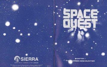 Space Quest Manuial - Virtual Apple