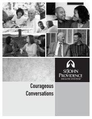 Courageous Conversations - St. John Health System