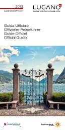 Guida Ufficiale Offizieller Reiseführer Guide ... - Lugano Turismo