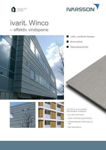 WinCo WR - Tepo