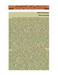 Poesia e Oralidade - Revista Hispanista