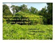 Invasion biology: Where did it come from, where ... - TIPS Conference
