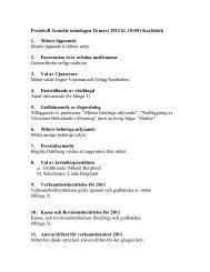 Årsmötet 2012 - Socialdemokraterna