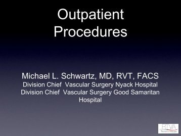 Outpatient Procedures