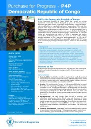 DRC Purchase for Progress - WFP Remote Access Secure Services