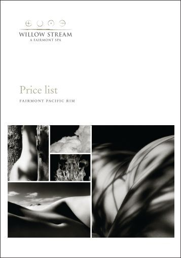 Download our brochure and pricelist - Spas Vancouver