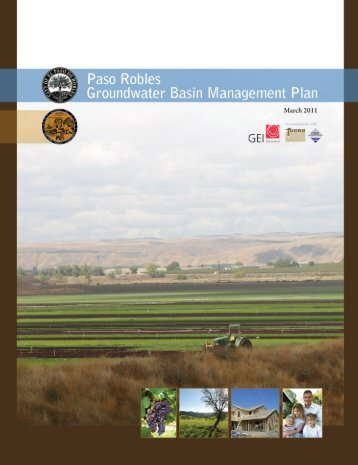 Groundwater Basin Management Plan - SLOCountyWater.org
