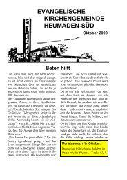 Word Pro - 2008-10Text.lwp - Kirchengemeinde Heumaden-Süd