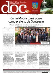 Diário Oficial Nº 3049 - Prefeitura de Contagem
