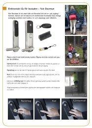 Elektroniskt lås för bostaden - Yale Doorman Nyckeltag Kod ...