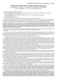 Scarica il testo aggiornato - Il Momento legislativo