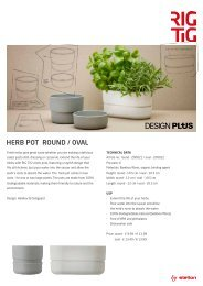 HERB POT ROUND / OVAL - RIG-TIG by Stelton