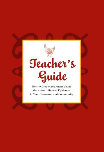 Teacher's Guide - Avian and Pandemic Influenza Resource Link