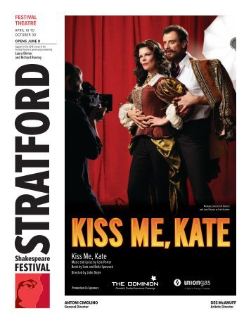 Kiss Me Kate.indd - Stratford Festival