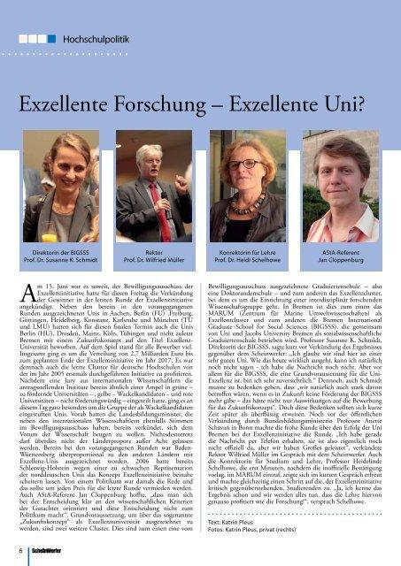 KommEnTar - Scheinwerfer: Bremens freies Unimagazin: Issues ...